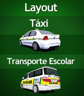 Banner - Layout Táxi e TE